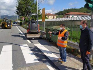 Strada piangrande Andora