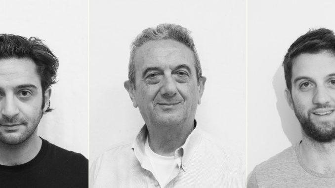 Tommaso Bianco Maurizio Sguotti e Alex Nesti