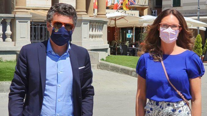 Carlo Bagnasco e Alice Dotta