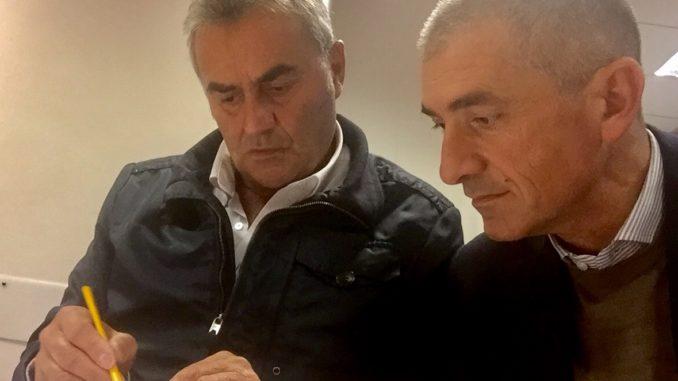 Claudio Muzio e Andrea Costa