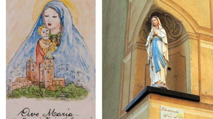 madonnina dei caruggi di Albenga