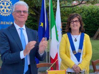 Anna Maria Rebuttato nuovo presidente del Rotary Club Albenga