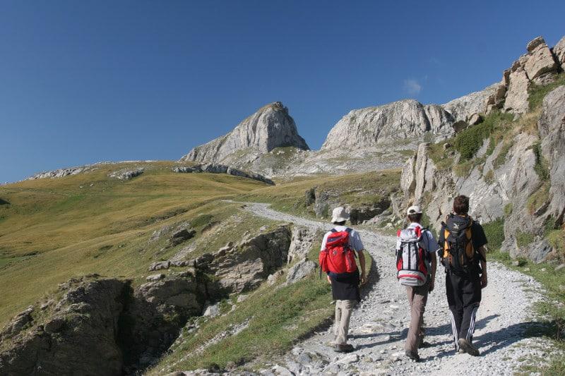 Atl camminare nelle valli