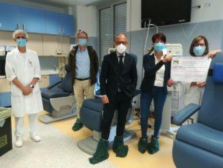 Donazione per Centro Trasfusionale Asl2 savonese