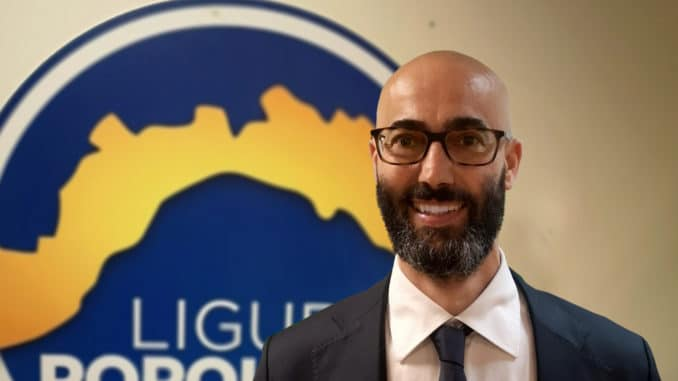 Gabriele Pisani di Liguria Popolare