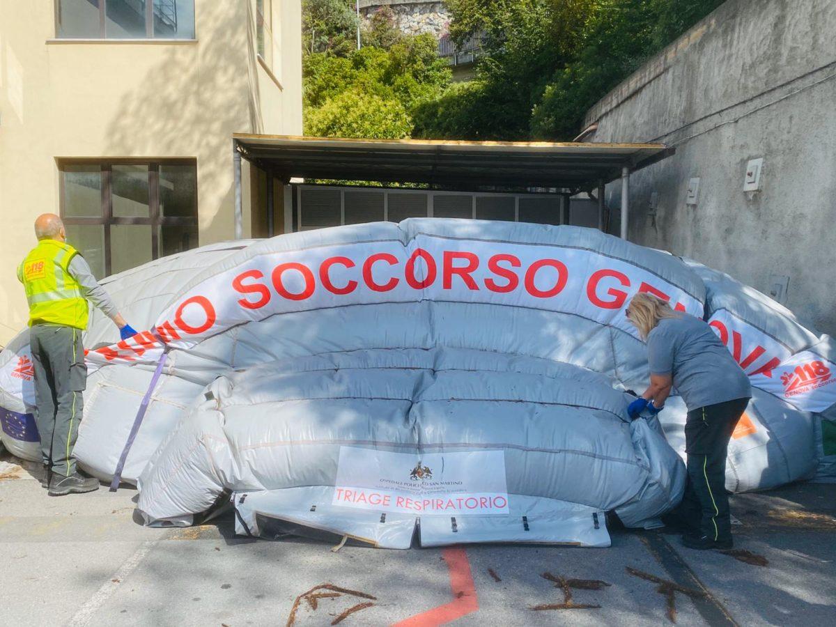 Genova 020 06 18 Smontaggio Tenda 02