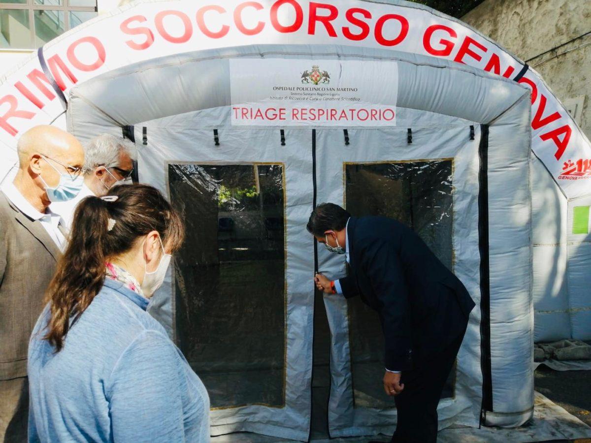 Genova 2020 06 18 Smontaggio Tenda 01