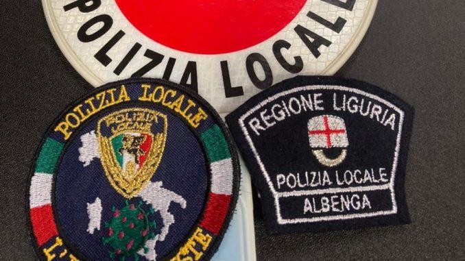 Insegne della Polizia locale di Albenga