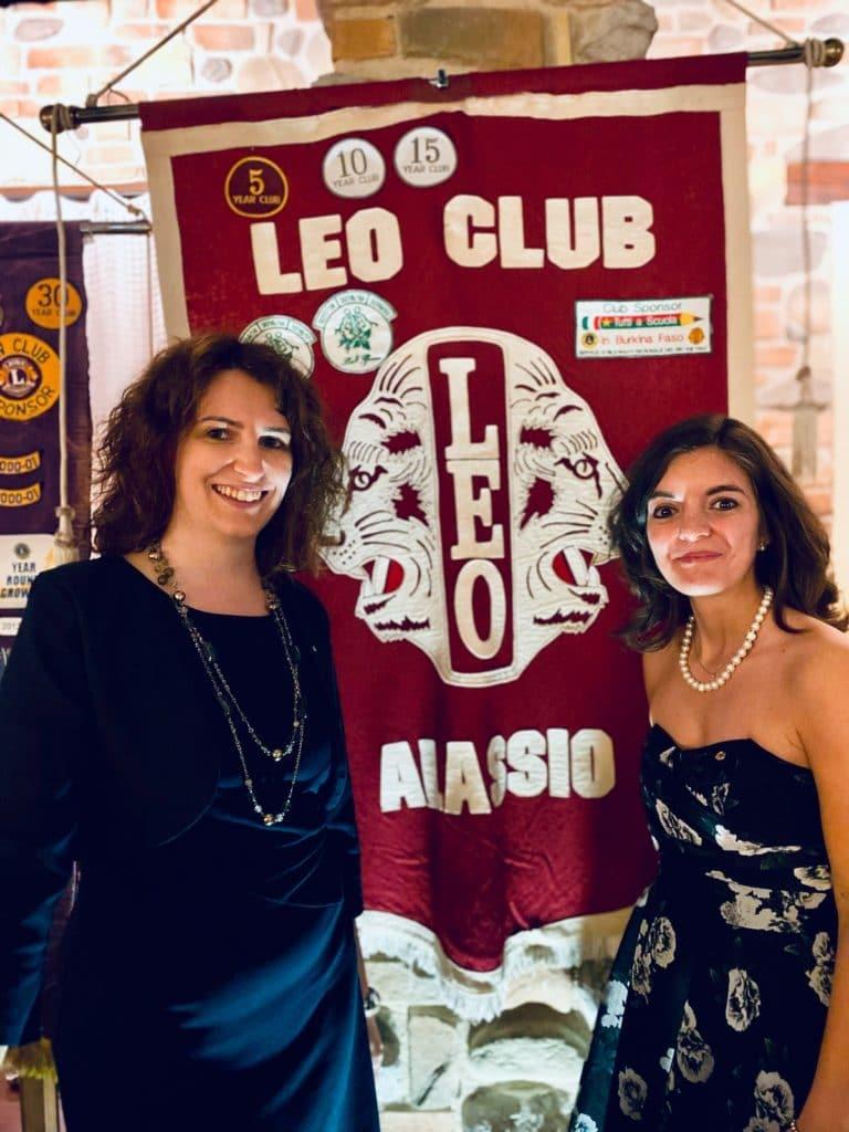 Leo Club Alassio - Alessandra Marasco e Sara Maghella