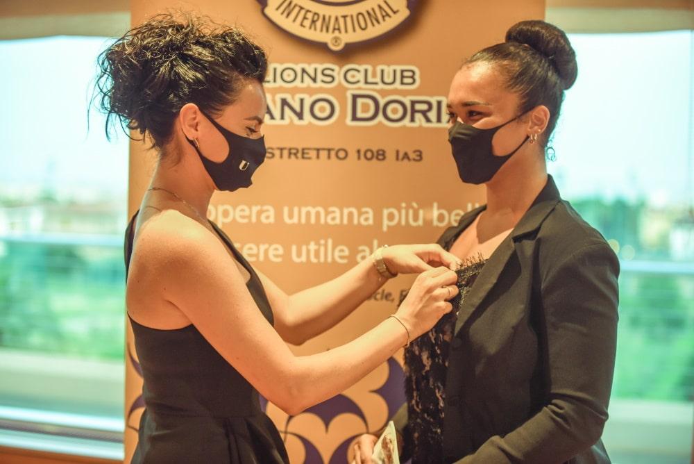Lions Club Loano Matilde Piccinini e Carole Vernetti 03