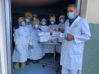 Lions e Bastapoco donazioni ospedali Albenga e Pietra Ligure