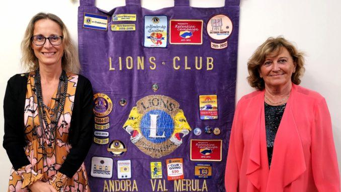 Maria Teresa Nasi nuovo presidente Lions Club Andora Valle del Merula