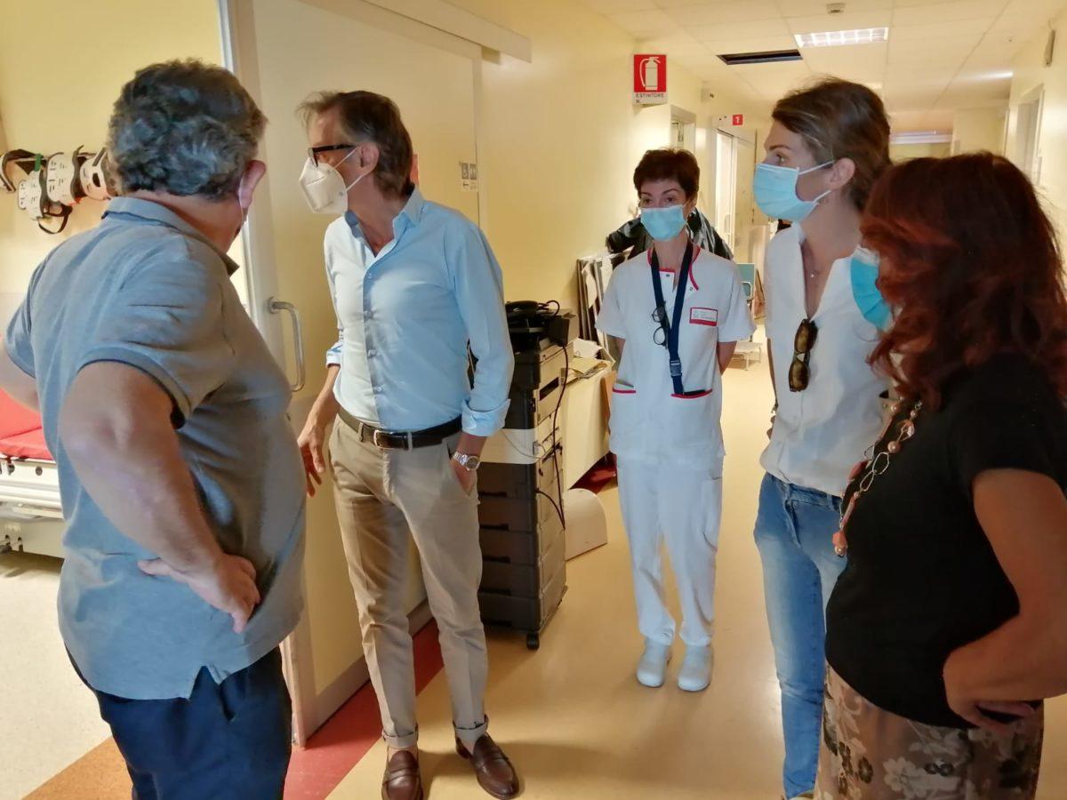 Visita al PPI Punto Primo intervento Albenga 4