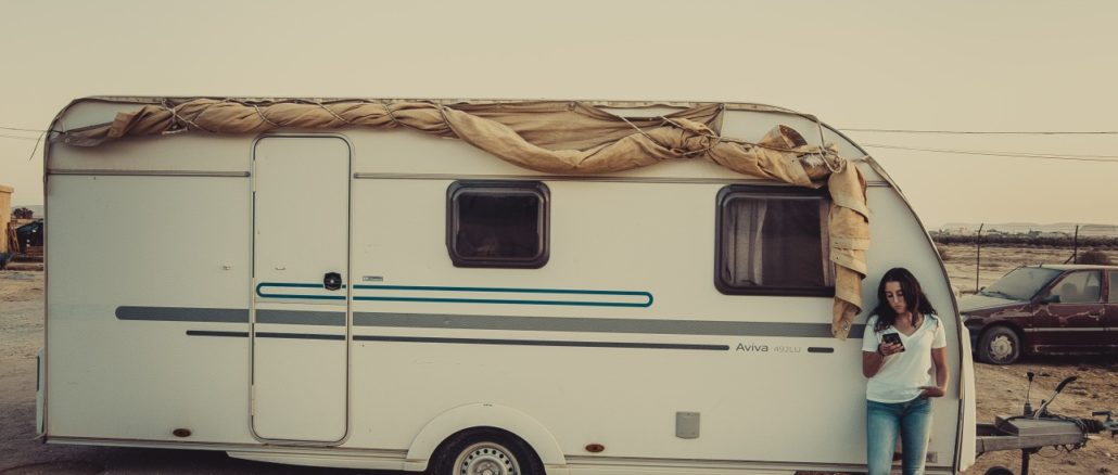 camper e roulotte in sosta