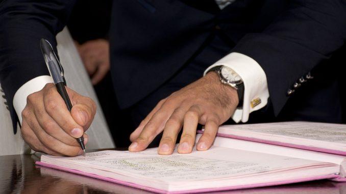 firma registro