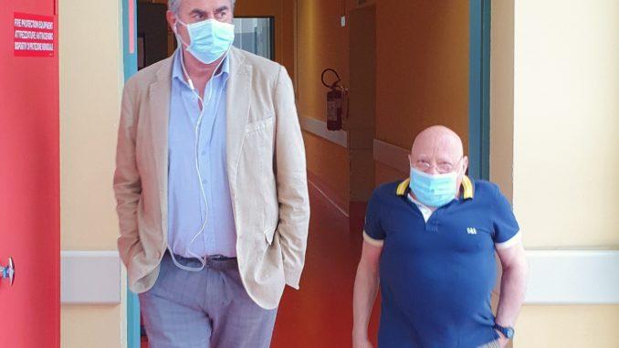 foto_Ospedali Liguria Muzio visita Gallino