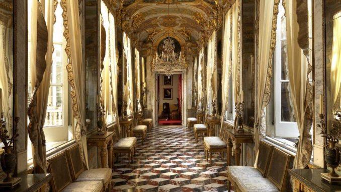 Palazzo Spinola - la dimora storica, galleria degli specchi