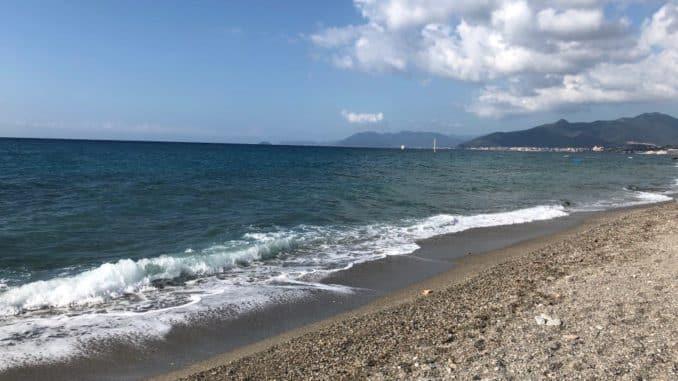 spiaggia libera di Borgio Verezzi