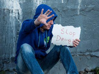 stop agli stupefacenti