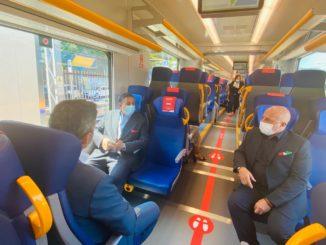 Trasporti - treno pop Savona - Toti e Berrino