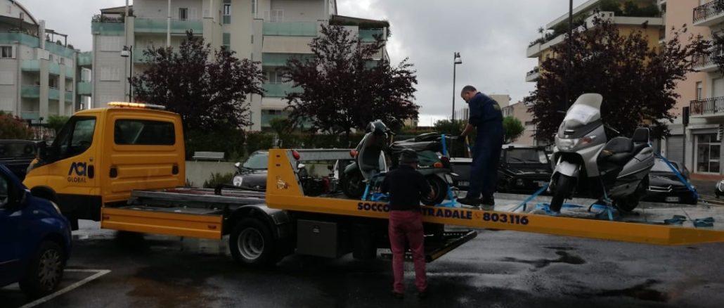 Rimozione veicoli ad Albenga