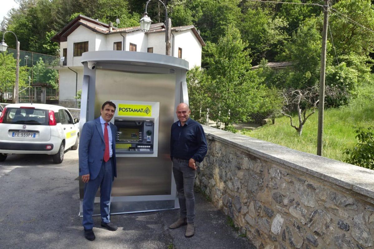 ATM Postamat - Inaugurazione Massimino