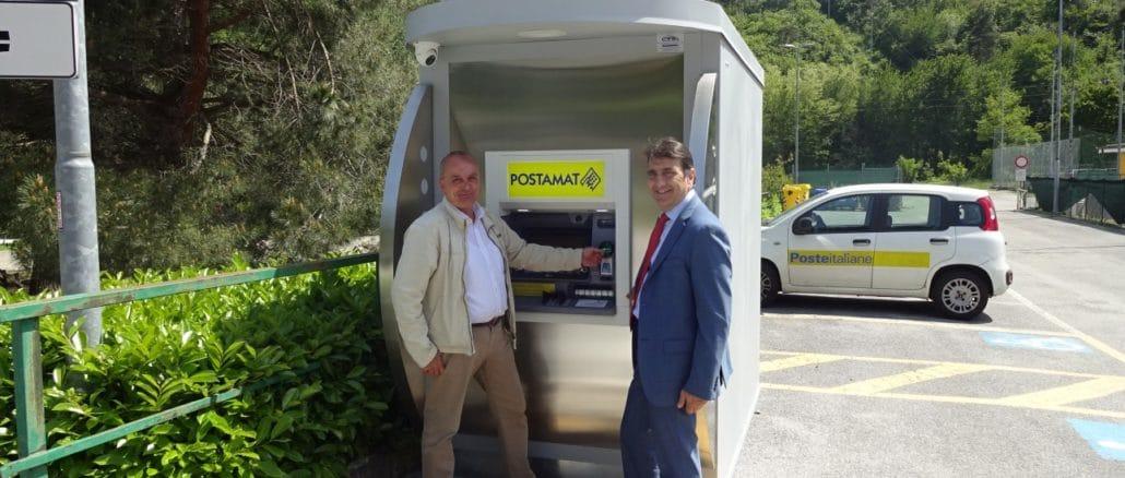 ATM Postamat - Inaugurazione Plodio