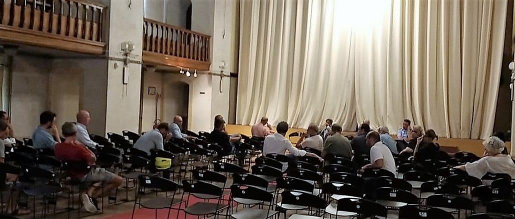 Alassio ìriunione sulla sicurezza presso la ex chiesa anglicana