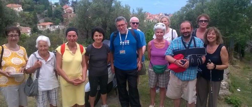 Alassio passeggiata con Amnesty