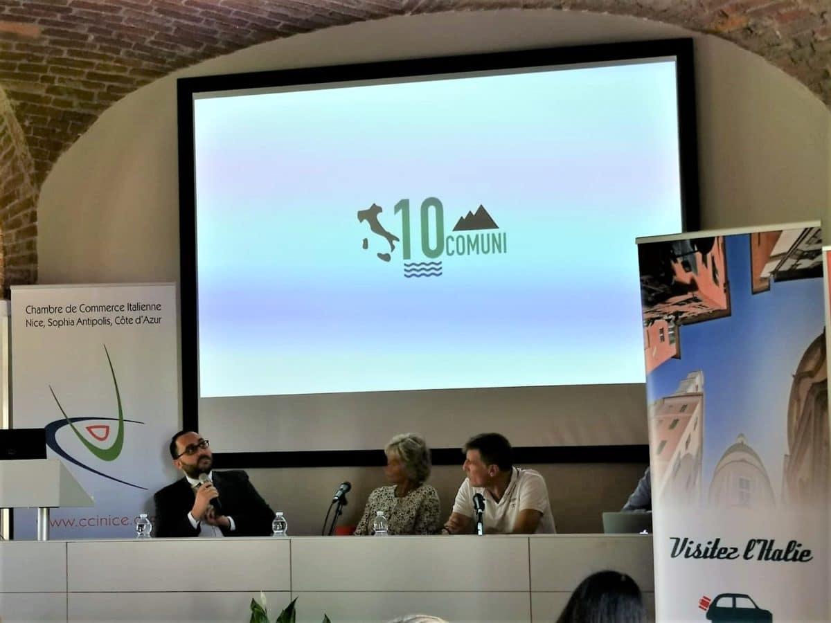 Alassio presentazione progetto 10 Comuni