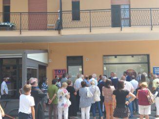 Andora - inaugurazione point Toti
