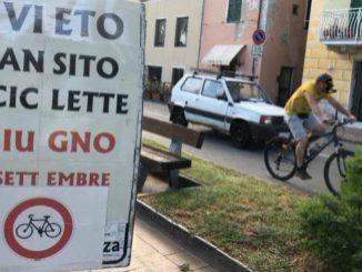 Aurelia Cogoleto transito biciclette