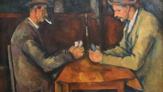Cézanne giocatori di carte