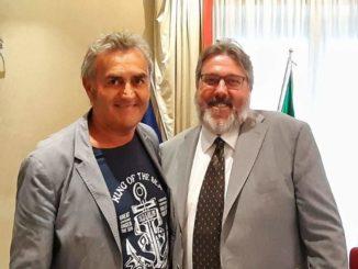 Claudio Muzio e Angelo Vaccarezza in Regione Liguria