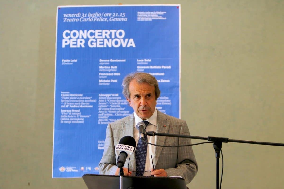 Claudio Orazi_conf stampa Concerto per Genova