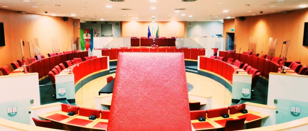 Consiglio Regione Liguria - Agenda rossa - Piana e Borsellino