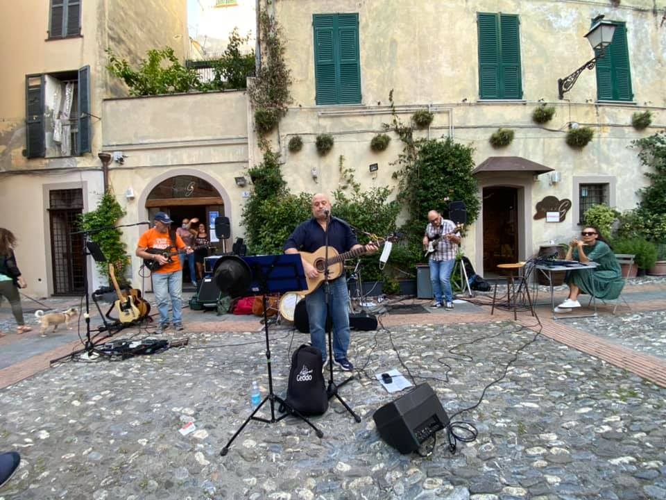 Davide Geddo in concerto ad Albenga