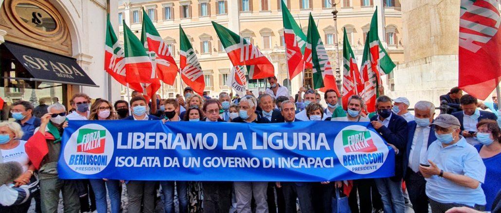 Forza Italia Liguria - manifestazione a Roma