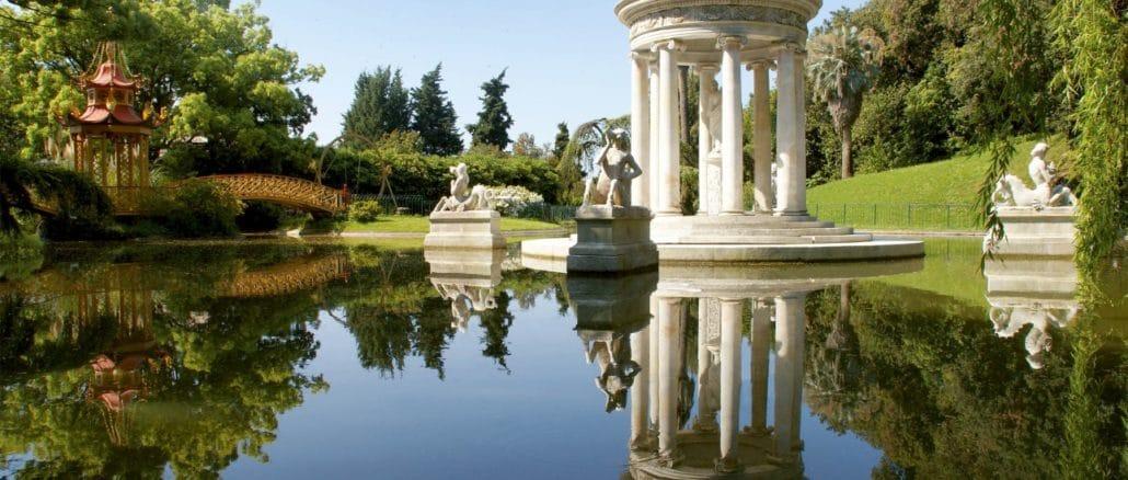 Genova Pegli - Lago grande - Villa Durazzo Pallavicini