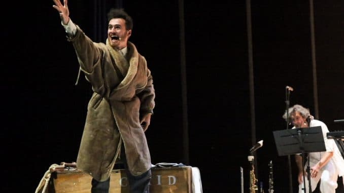 Igor Chierici ed Edmondo Romano (da sin) - I diari di Ernest Shackleton-1