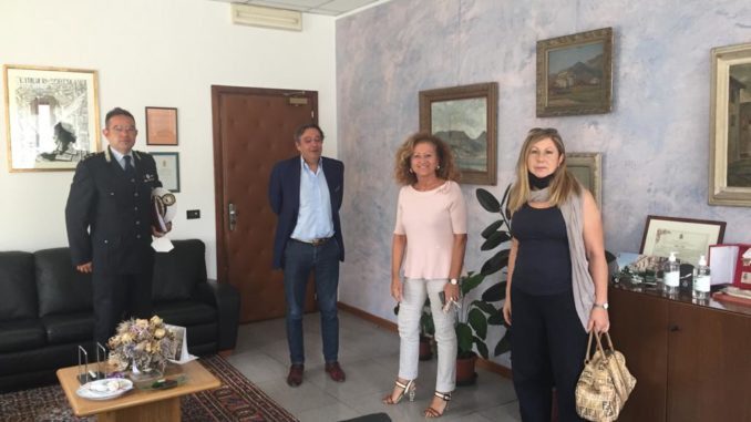 Incontro amministrazioine Alassio in Questura Savona