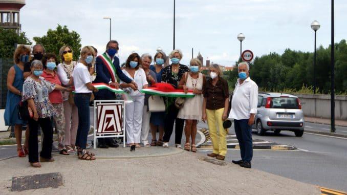 Inaugurazione Rotonda Zonta Internaionale Albenga Alassio