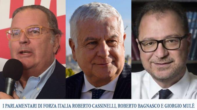 Liguria deputati Forza Italia
