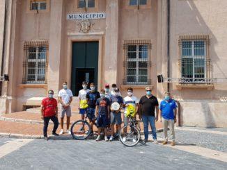 Loano - Incontro con i ciclisti