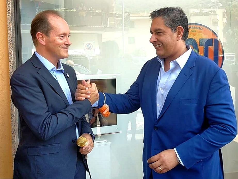 Mauro Demichelis e Giovanni Toti
