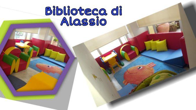 Nuovo angolo morbido biblioteca Alassio
