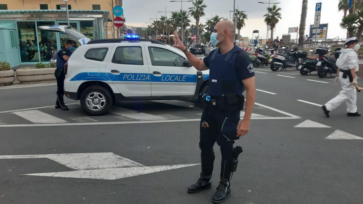 Polizie Locali Riviera di Ponente - controlli