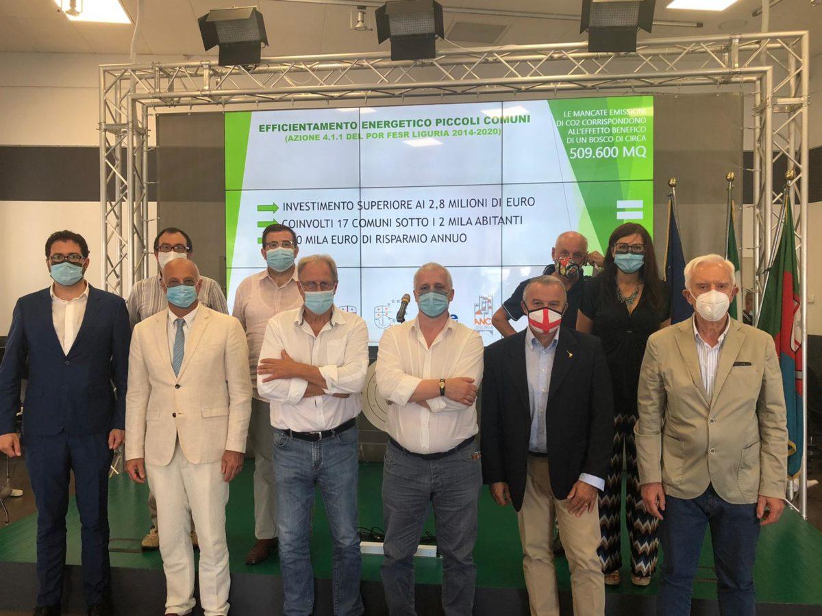 Por Fesr Liguria - presentati i risultati del bando energia piccoli comuni