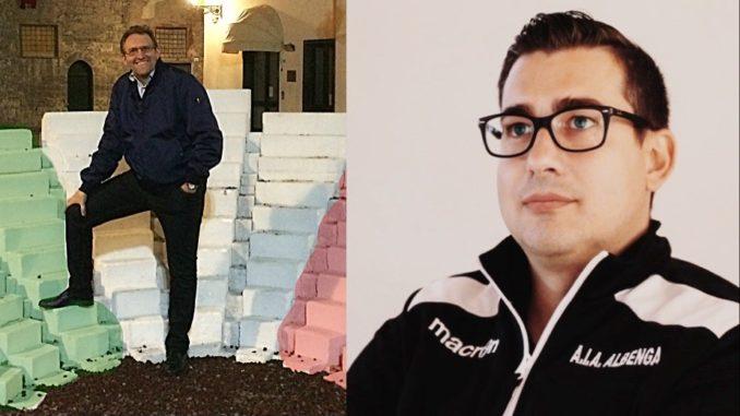 Sezione arbitri Albenga - Gianluca Panizza e Igor Vecchio