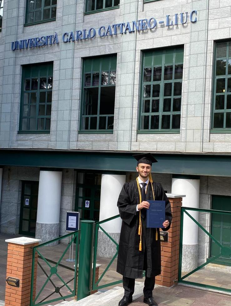 Matteo Matteucci - laureato con 110 e lode alla LIUC